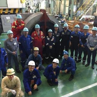 marine turbo team training, nagasaki japan
