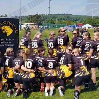 Caldy Cougars Women Touch Rugby team