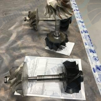 Turbine Blade Wear Repair