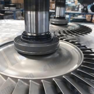 Turbine Axial Bladed Rotor