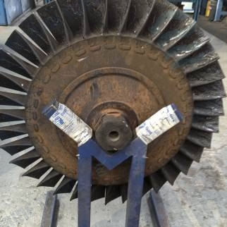 Mitsubishi MET SE Rotor assembly in workshop for Refit service