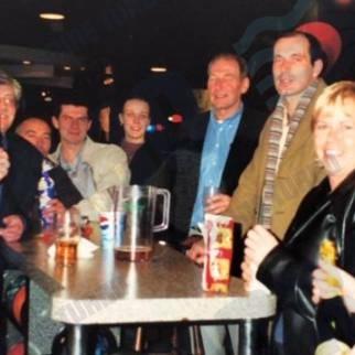 Marine Turbo Employees Socialising and Celebrating