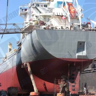 Turbo planned maintenance dry dock