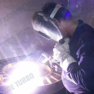 ABB VTR turbine nozzle ring weld cracking of rings at mumbai india workshop