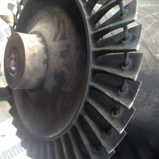 ABB TPL 65 turbine blade and disc workshop inspection