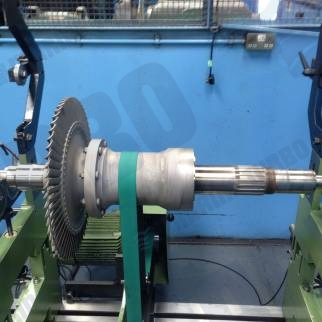 Napier na457 turbine bladed rotor for workshop dynamic balance and concentricity checks