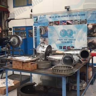 CAT turbocharger 346 1203 ABB TPS 57 f32